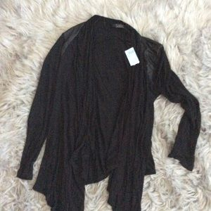 Zara black thin cardigan